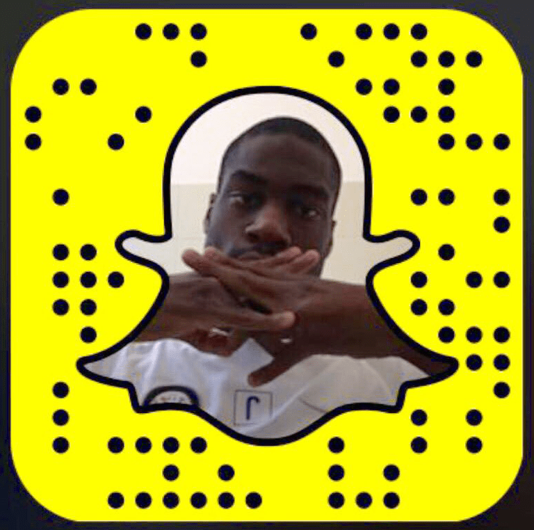 Geoffrey Kondogbia Snapchat username