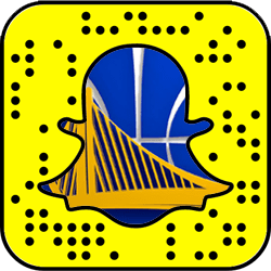 Golden State Warriors Snapchat username