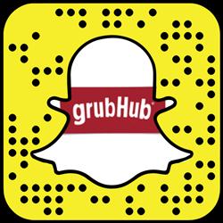 Grubhub Snapchat username
