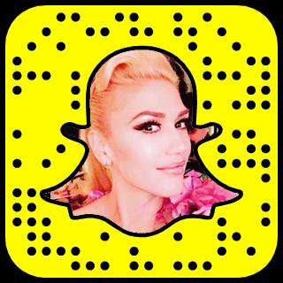 Gwen Stefani Snapchat username