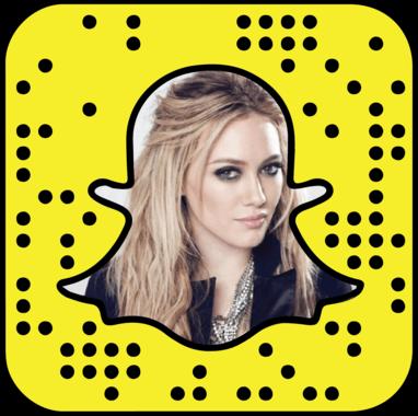 Hilary Duff Snapchat username