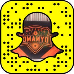 Houston Dynamo snapchat