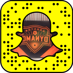 Houston Dynamo Snapchat username
