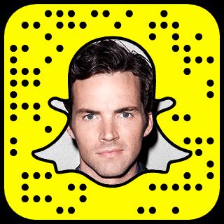 Ian Harding Snapchat username