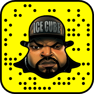 Ice Cube Snapchat username