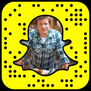 Jamie Oliver Snapchat username