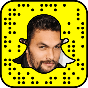 Check out Jason Momoa's Snapchat username and find other