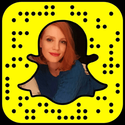 Jessica Chastain Snapchat username
