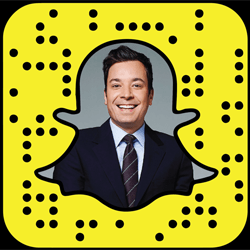 Jimmy Fallon Snapchat username