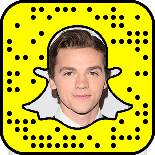 Joel Courtney Snapchat username