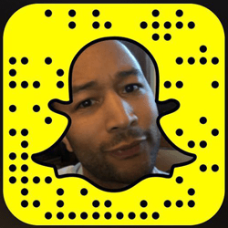 John Legend Snapchat username