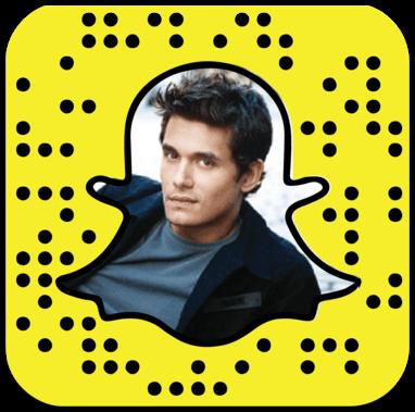 John Mayer Snapchat username