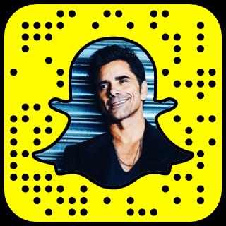 John Stamos Snapchat username