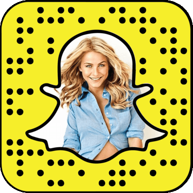 Julianne Hough Snapchat username