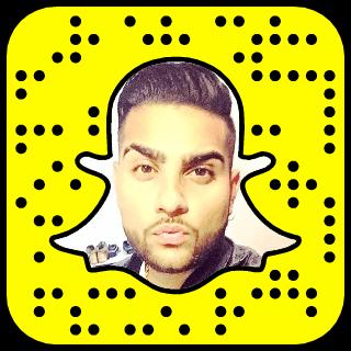 Karan Aujla Snapchat username