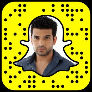 Karan Kundra Snapchat username
