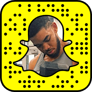 Karl-Anthony Towns snapchat