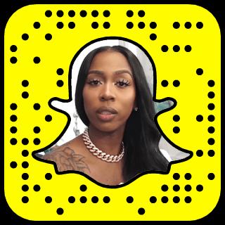 Kash Doll Snapchat username