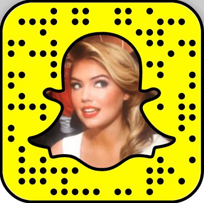 Kate Upton Snapchat username