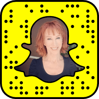 Kathy Griffin snapchat