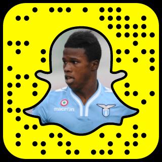 Keita Baldé Diao Snapchat username