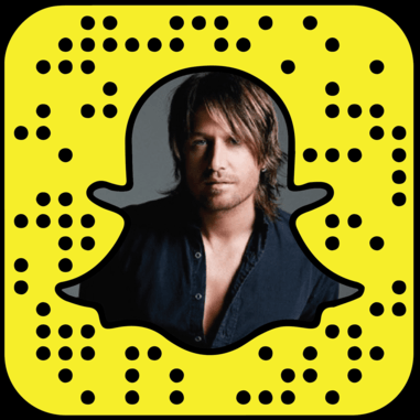 Keith Urban Snapchat username