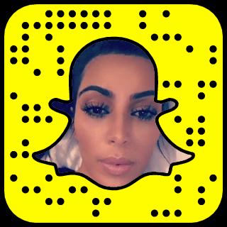 Kim Kardashian West Snapchat username