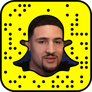 Klay Thompson snapchat