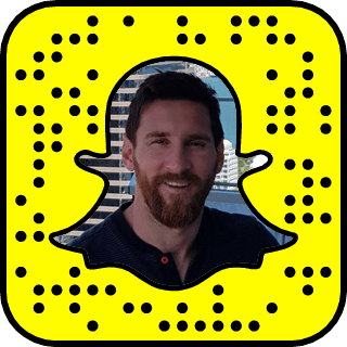 Lionel Messi Snapchat username