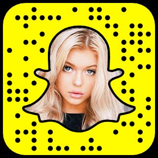 Loren Gray Snapchat username