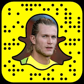 Loris Karius Snapchat username