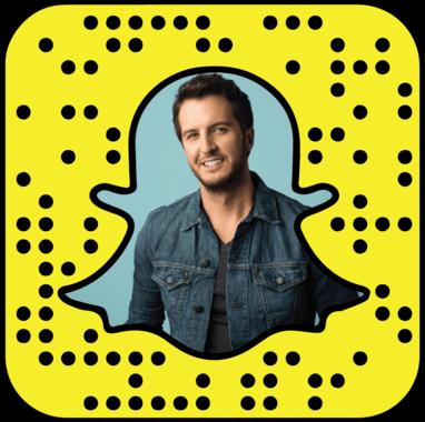 Luke Bryan Snapchat username