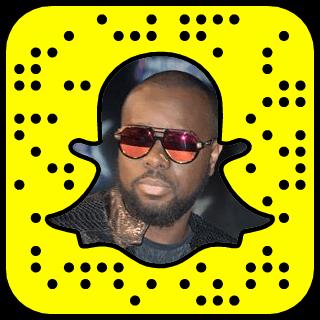 Maitre Gims Snapchat username