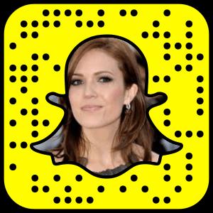 Mandy Moore Snapchat username