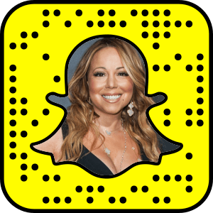 Mariah Carey Snapchat username