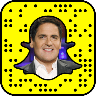 Mark Cuban snapchat