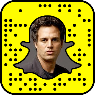Mark Ruffalo Snapchat username