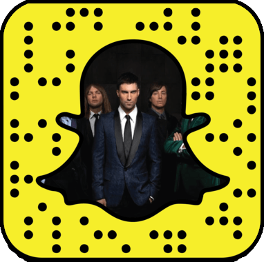 Maroon 5 Snapchat username