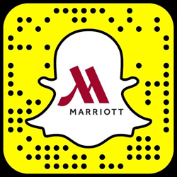 Marriott snapchat