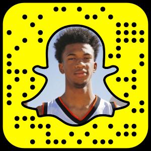 Marvin Bagley Snapchat username