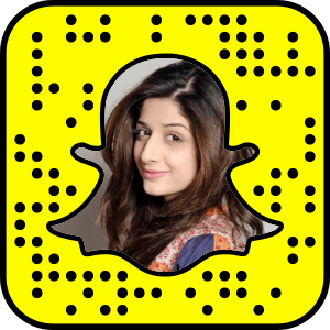 Mawra Hocane Snapchat username