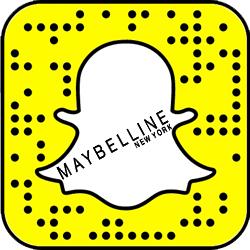 Maybelline Snapchat username