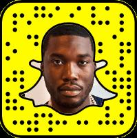 Meek Mill Snapchat username
