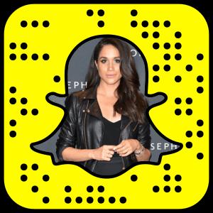 Meghan Markle Snapchat username