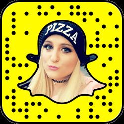Meghan Trainor Snapchat username