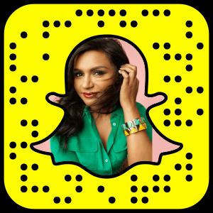 Mindy Kaling Snapchat username