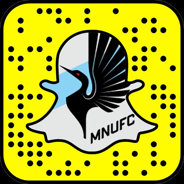 Minnesota United FC snapchat