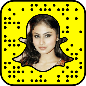 Mouni Roy Snapchat username