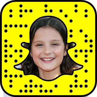 Natalie La Rose Snapchat username