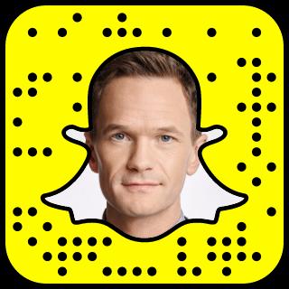 Neil Patrick Harris Snapchat username